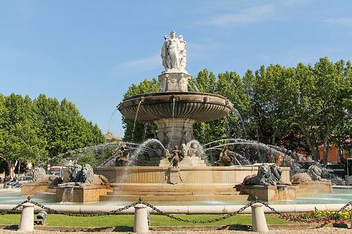 Fontaine Place du Général de Gaulle by Meteorry