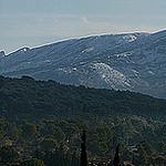 Panorama sur la montagne Sainte-Victoire enneigée by bruno Carrias - Aix-en-Provence 13100 Bouches-du-Rhône Provence France