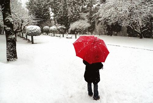 Aix-en-Provence sous la neige by jenrif