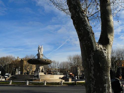 Place de la Rotonde. Aix-en-Provence par Antoine 2011