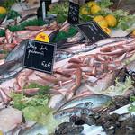 Marché : étalage de poissons par Elisabeth85 - Aix-en-Provence 13100 Bouches-du-Rhône Provence France