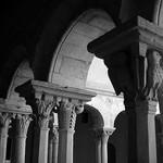 St Sauveur Cloister : Romanesque by  - Aix-en-Provence 13100 Bouches-du-Rhône Provence France