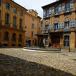 Place d'Albertas - Aix-en-Provence par bluerockpile - Aix-en-Provence 13100 Bouches-du-Rhône Provence France
