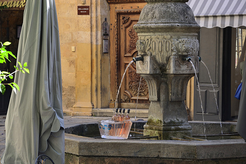 Fontaine des 3 ormeaux by STINFLIN Pascal