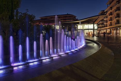 Water Spouts in Aix-en-Provence par philhaber
