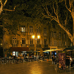 A Saturday Night in Aix-en-Provence by  - Aix-en-Provence 13100 Bouches-du-Rh&ocirc;ne Provence France