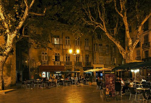 A Saturday Night in Aix-en-Provence par philhaber