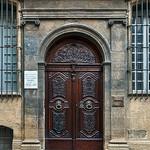 Old Carved door in Aix-en-Provence par philhaber - Aix-en-Provence 13100 Bouches-du-Rhône Provence France