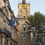 Clock Tower, Aix-en-Provence by philhaber - Aix-en-Provence 13100 Bouches-du-Rhône Provence France
