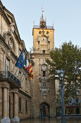 Clock Tower, Aix-en-Provence by philhaber