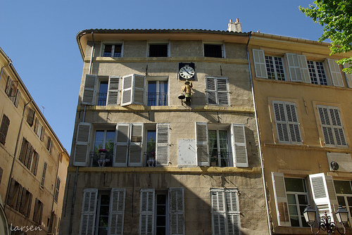 Aix-en-Provence - place des Prêcheurs par larsen & co