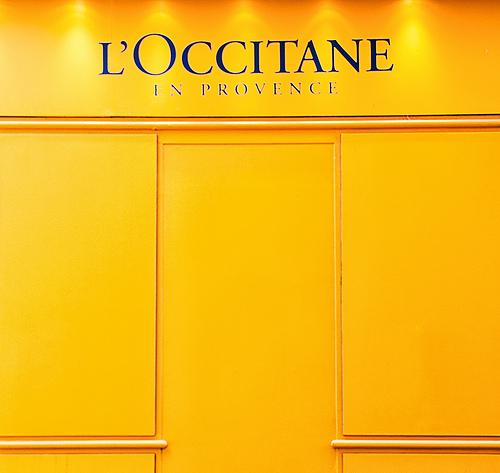 Provence orange / Orange square par Cilou101
