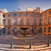 Place d'Albertas en panoramique à Aix en Provence by Look me Luck Photography - Aix-en-Provence 13100 Bouches-du-Rhône Provence France