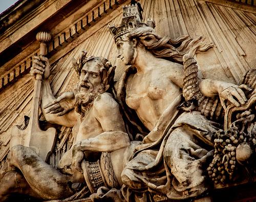 Statue du Palais de justice d'Aix by pierre.arnoldi