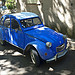 Citroën 2 CV bleue by Thomas Mayer - Allauch 13190 Bouches-du-Rhône Provence France
