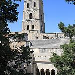 Cloître Saint-Trophime et son clocher par gab113 - Arles 13200 Bouches-du-Rhône Provence France