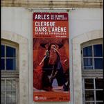 Arles : clergue dans l'arène by  - Arles 13200 Bouches-du-Rhône Provence France