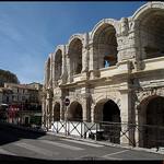 Les arènes d'Arles par Sylvia Andreu - Arles 13200 Bouches-du-Rhône Provence France