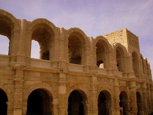 Arles : Roman amphitheatre par perseverando