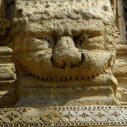 Romanesque monster by perseverando