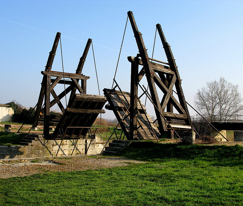 """le """"pont de Langlois"""" ou Pont Van Gogh par cigale4"""