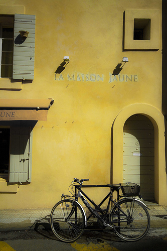 La maison jaune - Arles par Andrea Albertino