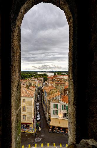 Vue depuis les arènes d'Arles par Patrick Car