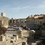 Arles view towards ampitheatre by george.f.lowe - Arles 13200 Bouches-du-Rhône Provence France