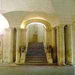 Voûte en berceaux du vestibule de l'Hôtel de Ville d'Arles par Klovovi - Arles 13200 Bouches-du-Rhône Provence France