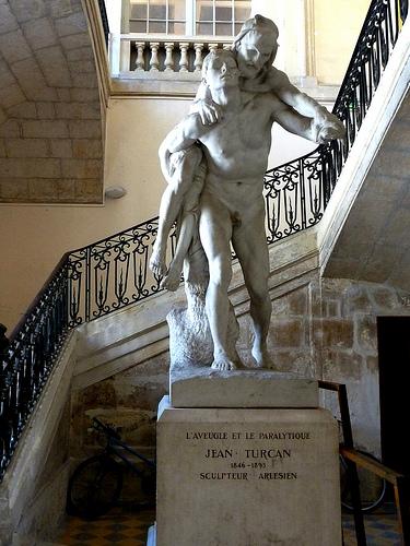 L'aveugle et le paralytique de Jean Turcan by Discours de Bayeux