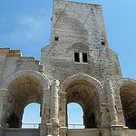Les ruines préservées de l'Amphithéâtre d'Arles par Discours de Bayeux - Arles 13200 Bouches-du-Rhône Provence France