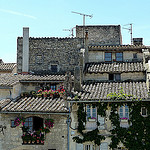 Les toits en tuiles d'Arles par Discours de Bayeux - Arles 13200 Bouches-du-Rhône Provence France