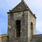 Clocher de l'abbaye de Frigolet par Dominique Pipet - Tarascon 13150 Bouches-du-Rhône Provence France