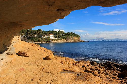 Le Cap Rousset by Bernard Bost