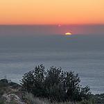 Couché de soleil sur la route des crêtes par  - Cassis 13260 Bouches-du-Rhône Provence France