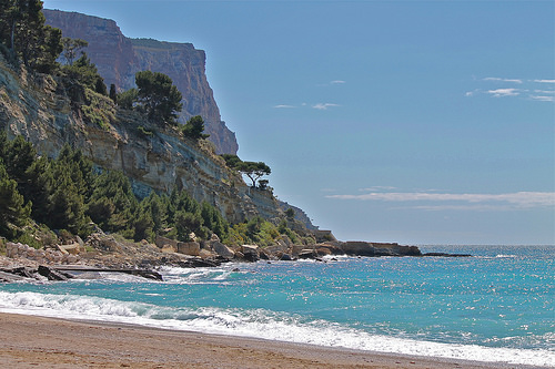 Cassis beach, the end of the coast par Alpha Lima X-ray