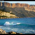 Vue de la falaise du Cap Canaille par Pantchoa - Cassis 13260 Bouches-du-Rhône Provence France