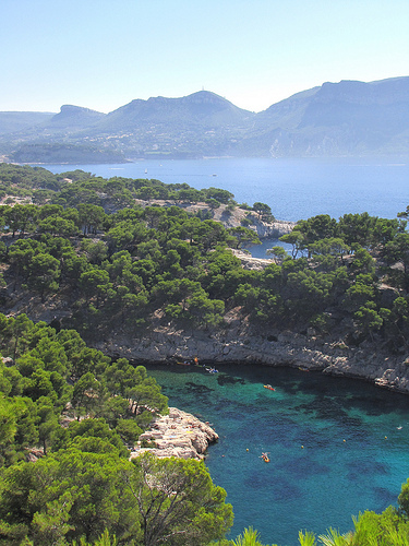 Port Pin, Pointe de la Cacau and bay of Cassis par cefran_other