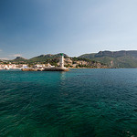 Cassis from the beach par Stimpy Rah - Cassis 13260 Bouches-du-Rhône Provence France