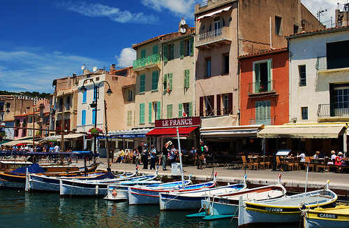 Cassis... et ses pointus par Laurice Photography