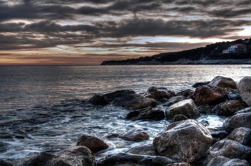 Le soleil se couche sur Cassis by feelnoxx
