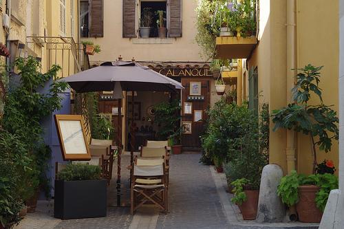 Restaurant à Cassis by feelnoxx