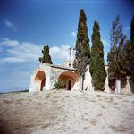 Chapelle Saint-Sixte (Holga) par schoeband - Eygalieres 13810 Bouches-du-Rhône Provence France