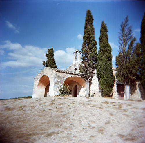 Chapelle Saint-Sixte (Holga) par schoeband