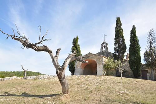 Chapelle Saint Sixte - Les Alpilles par salva1745