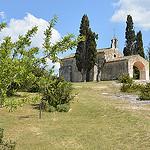 Chapelle Saint-Sixte en haut de la colline par salva1745 - Eygalieres 13810 Bouches-du-Rhône Provence France