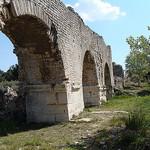 Aqueduc de Barbegal par  - Fontvieille 13990 Bouches-du-Rhône Provence France