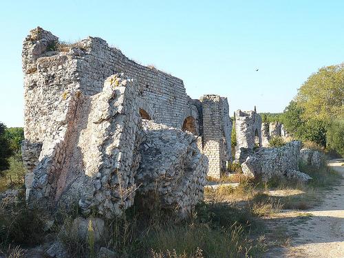 Ruines de l'Aqueduc de Barbegal par Vaxjo