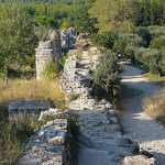 Aqueduc de Barbegal - Aqueducs Romains by Vaxjo - Fontvieille 13990 Bouches-du-Rhône Provence France