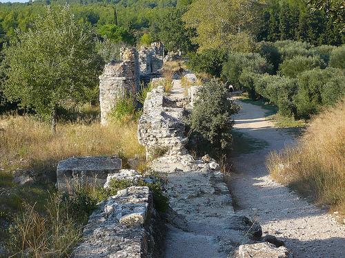Aqueduc de Barbegal - Aqueducs Romains par Vaxjo